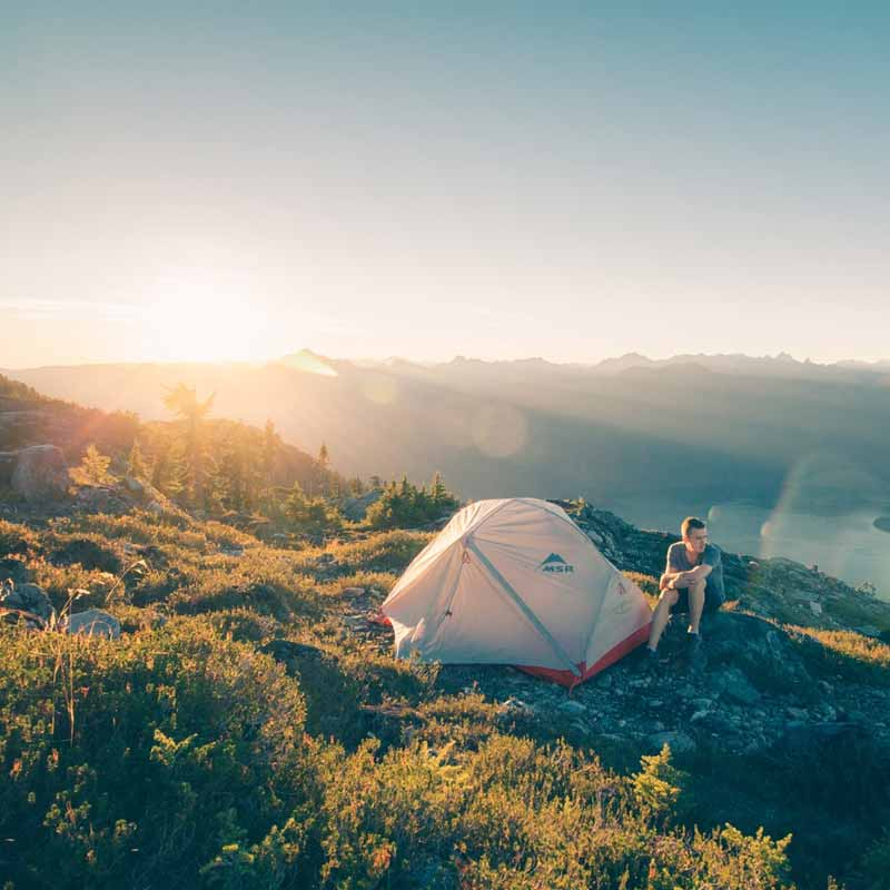 Camping at the Mountain